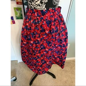 Bea & Dot by ModCloth swing skirt Berries